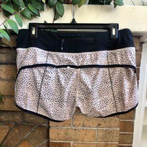 lululemon athletica Shorts - Lululemon Animal Print Shorts